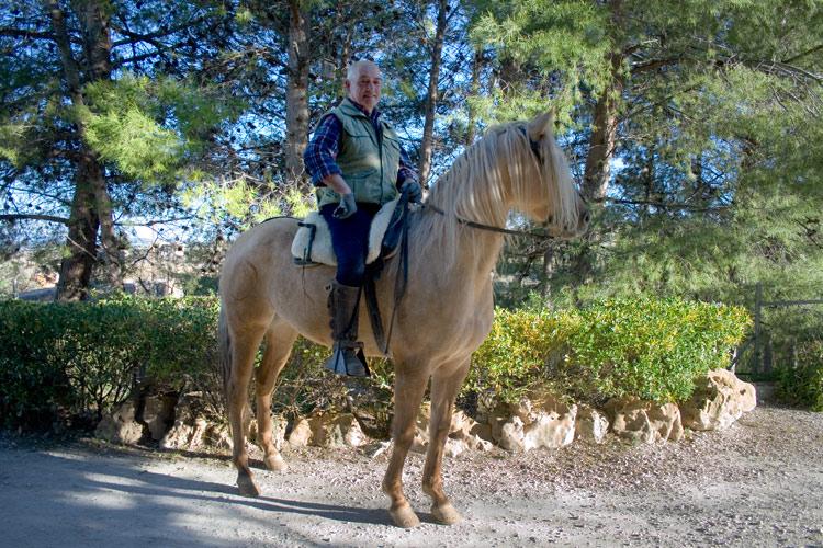 Paseos a caballo en Murcia