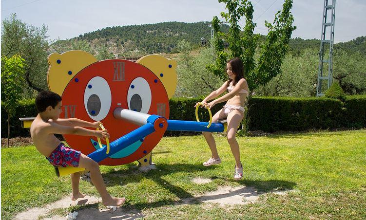 Parque infantil rural Murcia