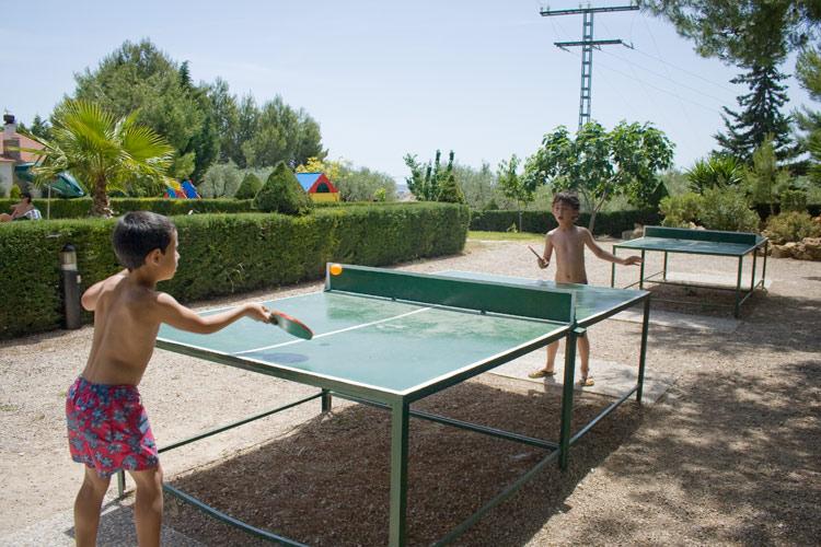 Ping pong casa rural Murcia