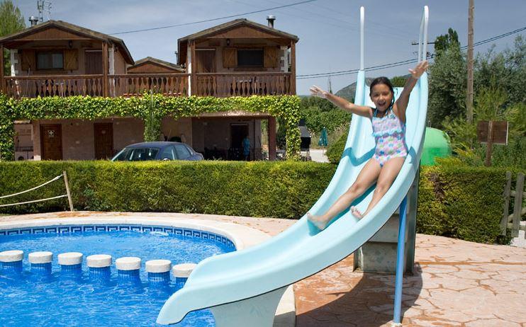 Piscina casa rural Murcia