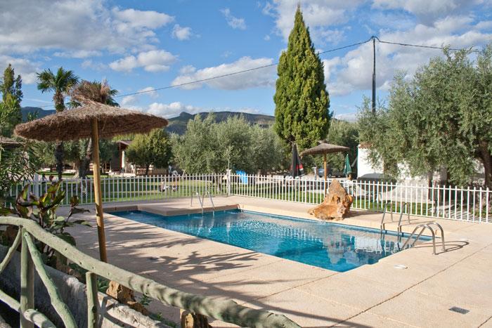 Piscina adaptada casa rural Murcia